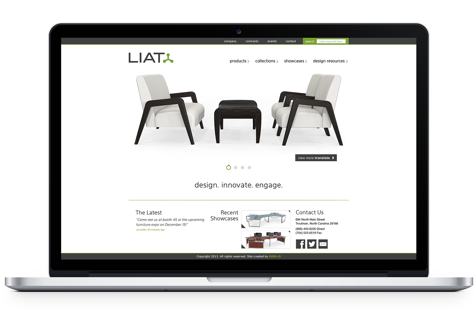 LIAT Furniture | Ginger Griffin Marketing & Design