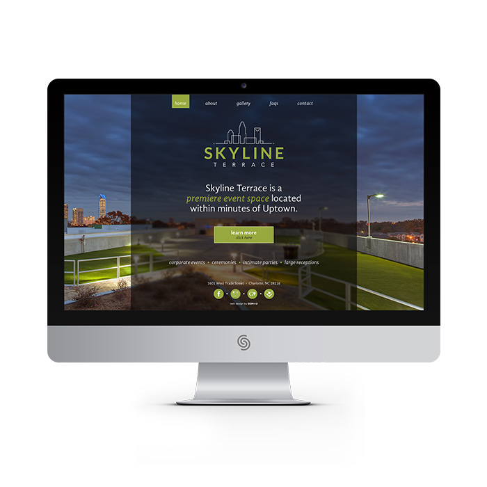 Skyline Terrace website