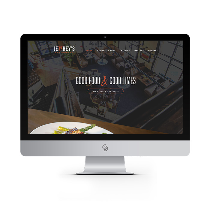 Jeffrey's Restaurant website
