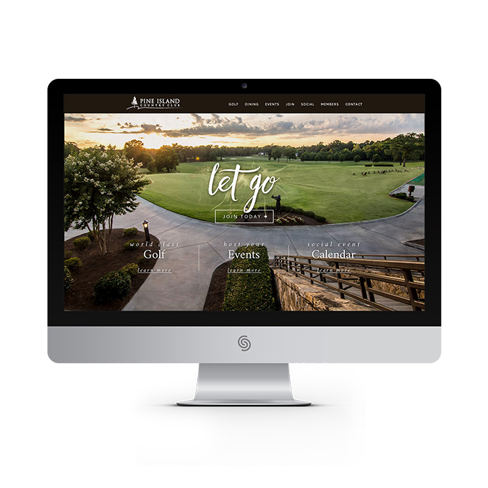 Pine Island Country Club website