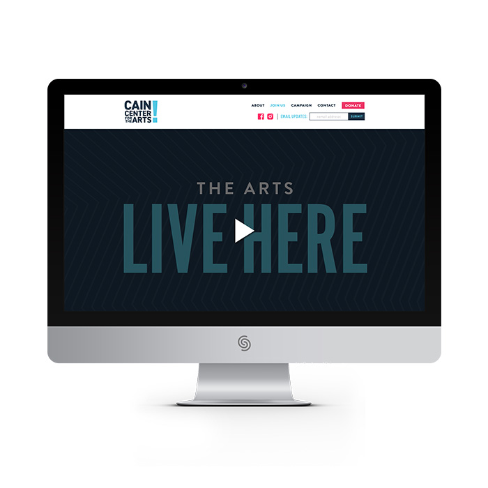 Cain Center for the Arts website
